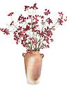 Kunstbloemen 2 Tak Klassiek Europees Eenvoudige Stijl Fruit Eeuwige bloemen Bloemen voor op tafel