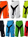 Men\'s Downhill Shorts Cycling MTB Shorts Bike Pants Bottoms Quick Dry Sports Plaid / Checkered Cotton Black / Silver / Green / Yellow / Silver / Black Mountain Bike MTB Road Bike Cycling Clothing