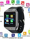 Kimlink DZ09S Άντρες Έξυπνο ρολόι iOS Bluetooth Οθόνη Αφής Θερμίδες που Κάηκαν Κλήσεις Hands-Free Ράδιο FM Φωτογραφική μηχανή / Android / Χρονόμετρο / Βηματόμετρο / Υπενθύμιση Κλήσης / 0,3 MP