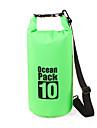 10 L حقيبة للماء جاف حزمة ضغط مقاوم للماء الطفو خفة الوزن إلى سباحة غوص تزلج على الماء