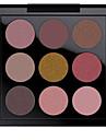 איפור שמח איפור צבעים מבריק מאט מבריק בעירום טבעי 9 צבע עשן צללית פיגמנט סט סט