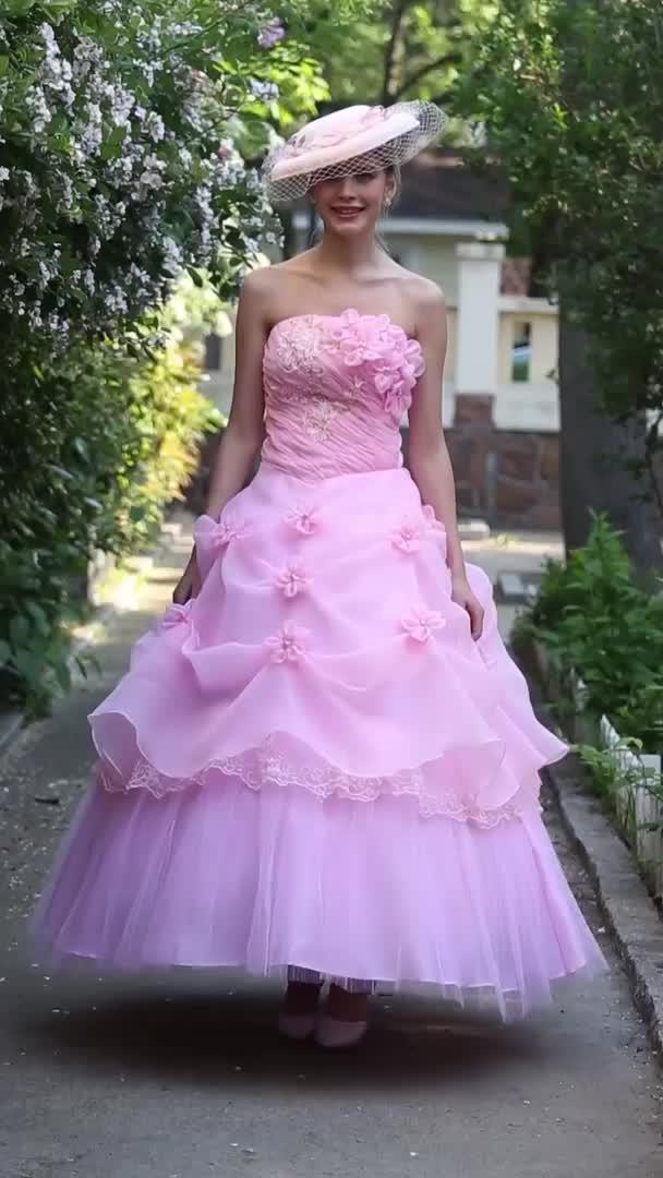 Salón Sin Tirantes Hasta el Tobillo Organza Vestidos de novia ...