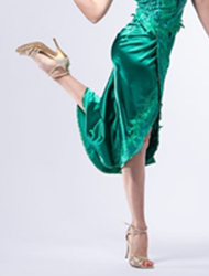 Sapatos de Dança de Cristal
