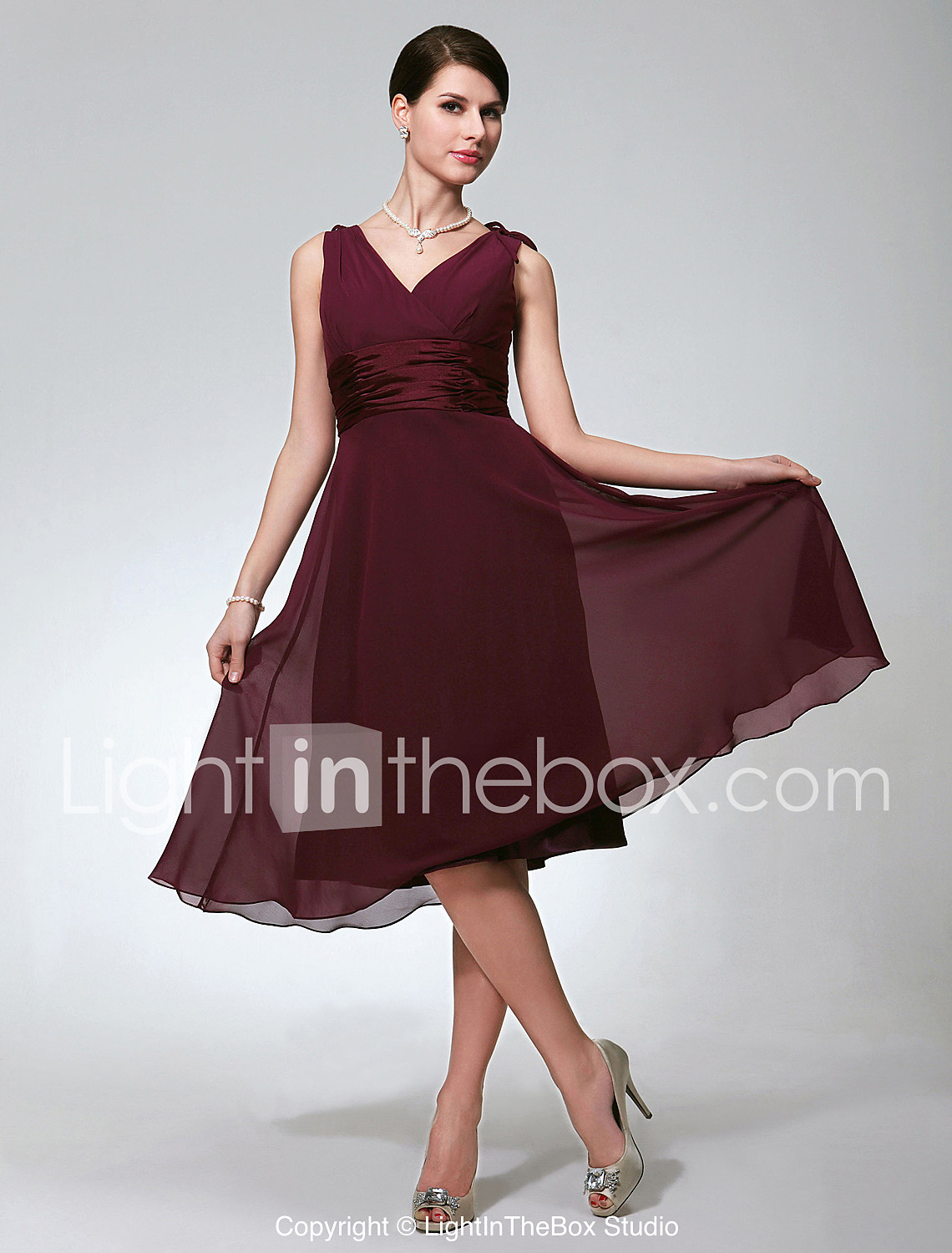Winter Bridesmaid Dresses With Sleeves Lightinthebox