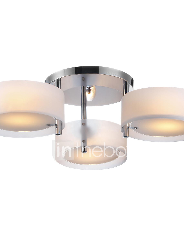Lightinthebox Flush Mount Ambient Light Chrome Metal Acrylic Mini Led Lamp Lightings Gt Wholesale Lamps 5mm Leds Photo By Supplier